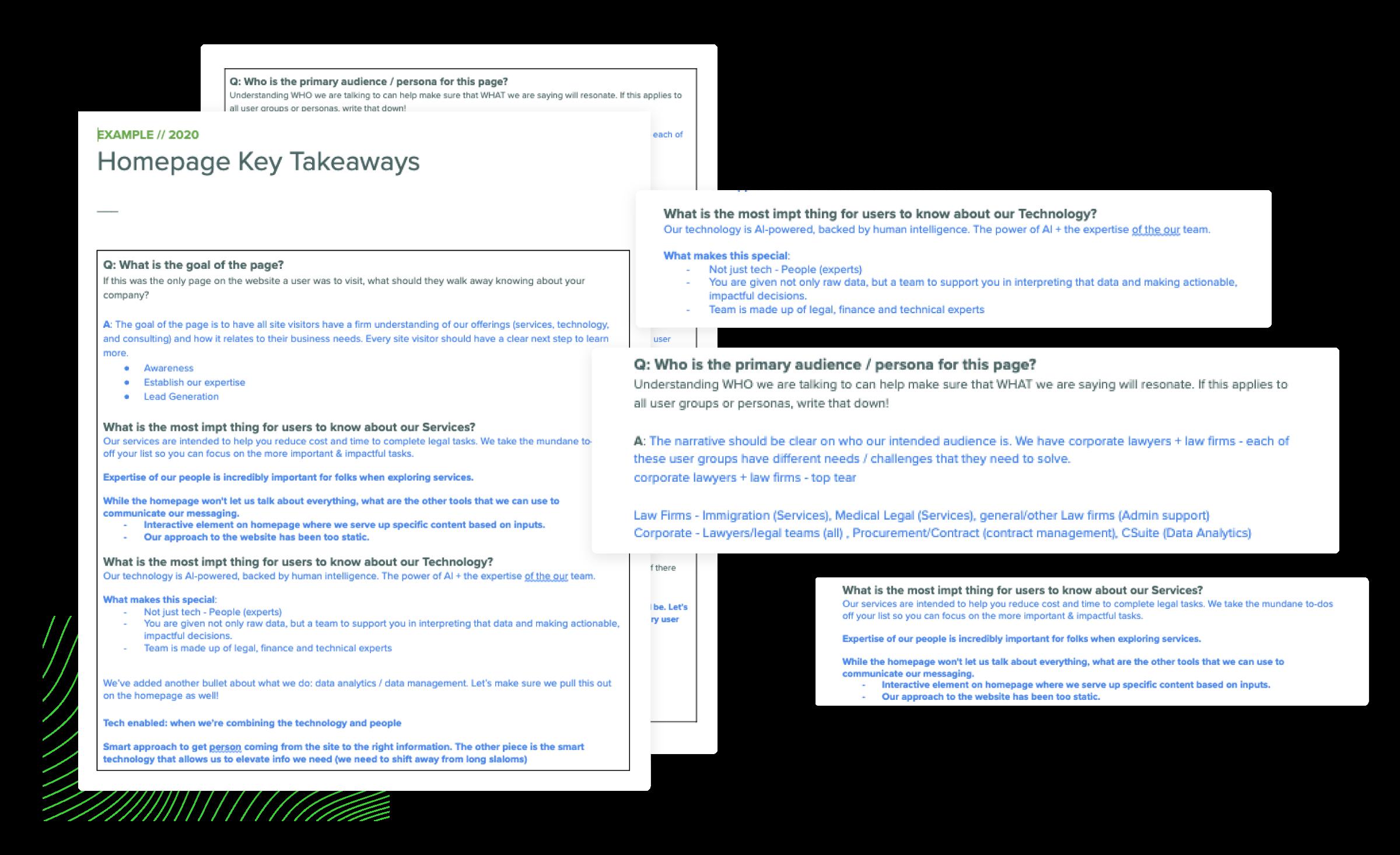 21-02-SRW client involvement-Key takeaways