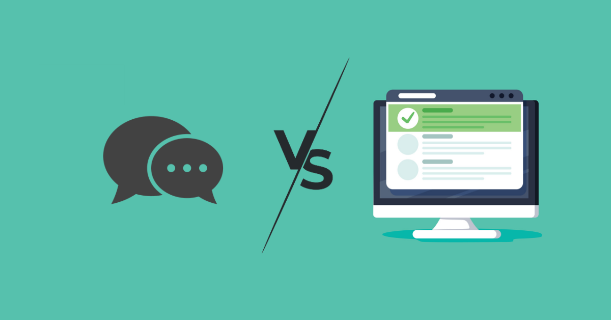 Chatbots Vs. Forms: Let the Debate Begin