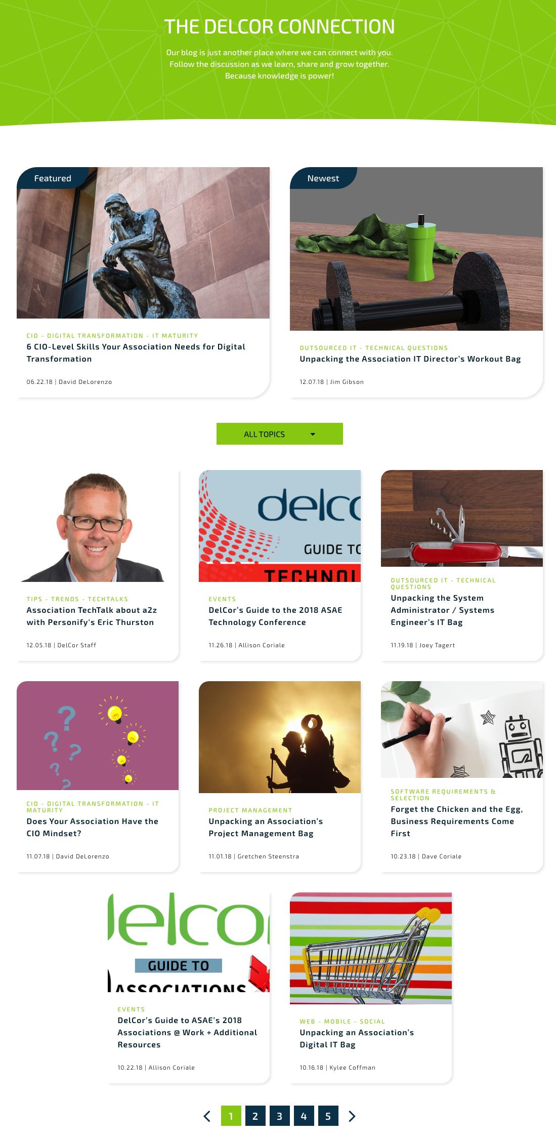 Delcor Blog