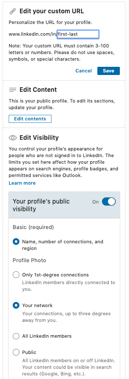 page-on-linkedin-that-allows-you-to-edit-your-url-and-the-content-displayed-on-your-page