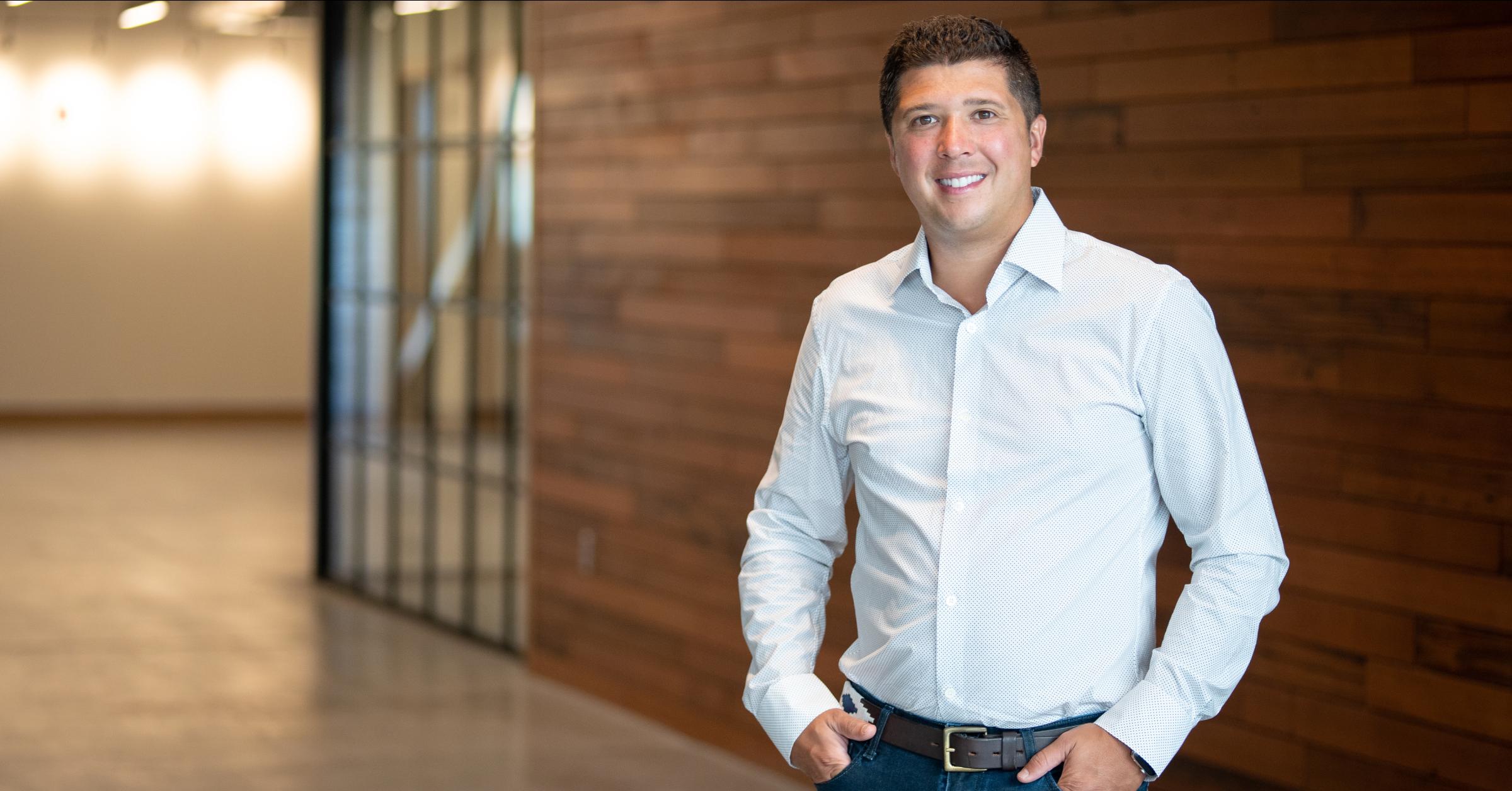 New Breed CEO Patrick Biddiscombe