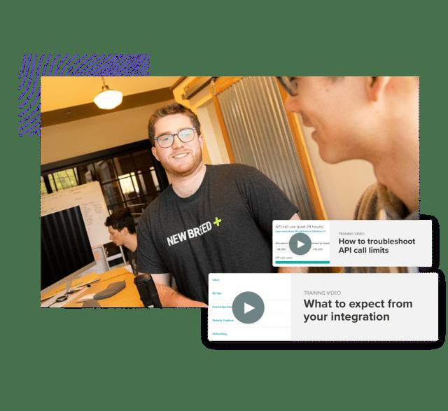 User training for HubSpot integration