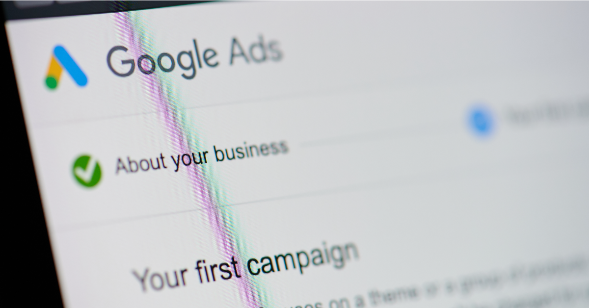 Google Ads campaign launch screen