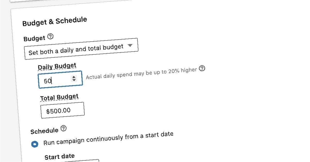How To Create a Paid Budget