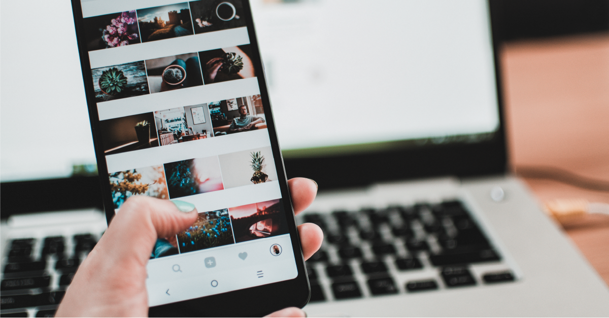 Prospect using instagram to post user-generated content