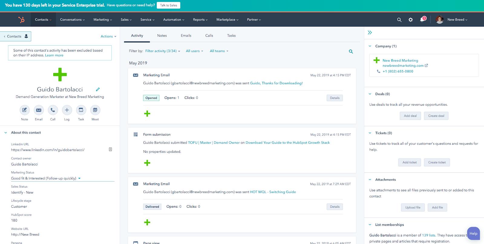hubspot-database