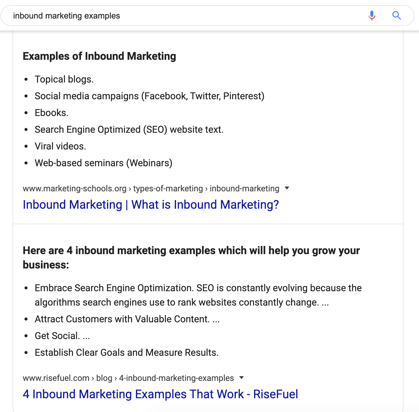 inbound marketing examples