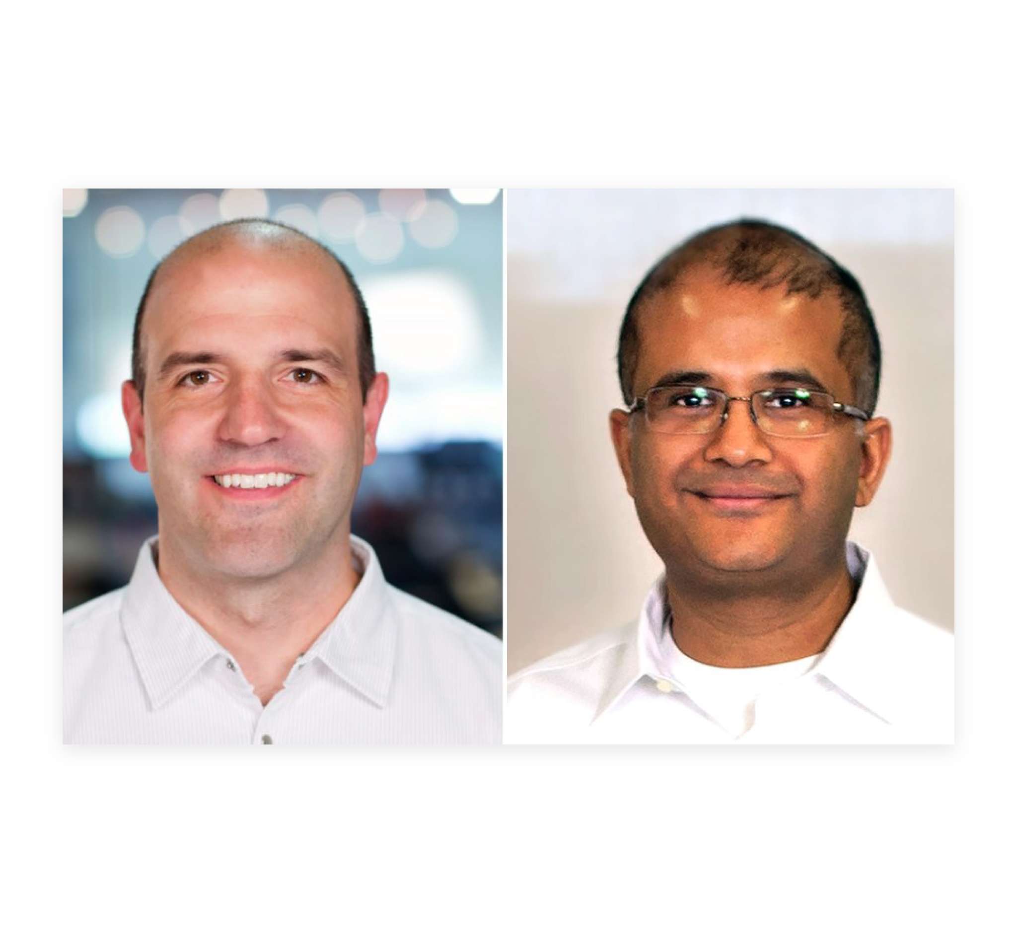 New Breed Board of Directors members Jim O'Neil and Vipul Shah.
