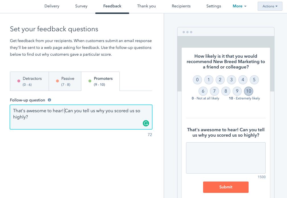 customize_feedback_menu_on_hubspot