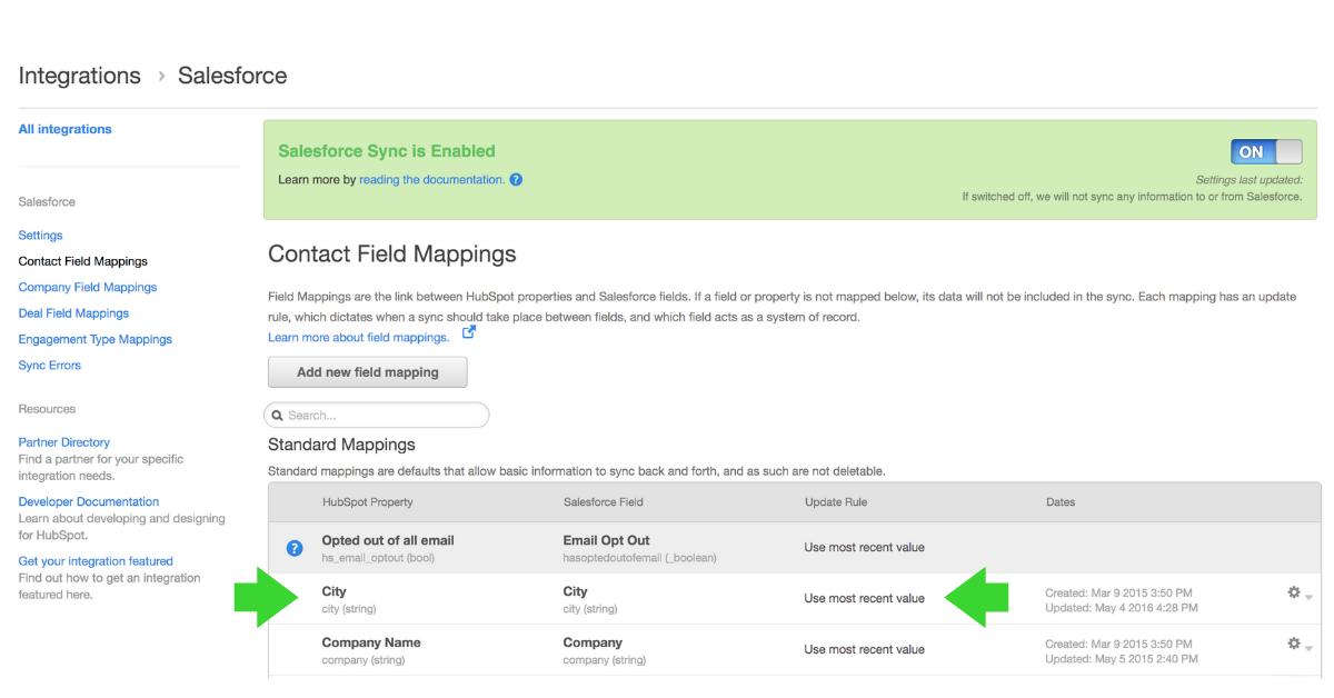 hubspot_salesforce_contact_field_mappings